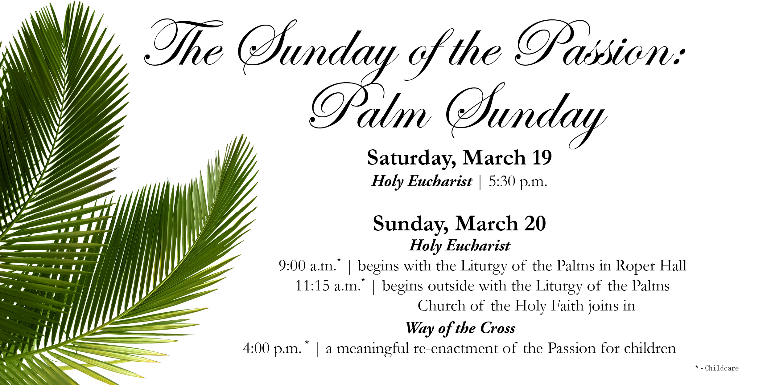 Holy Week and Easter Services | St. James Episcopal Church in ...