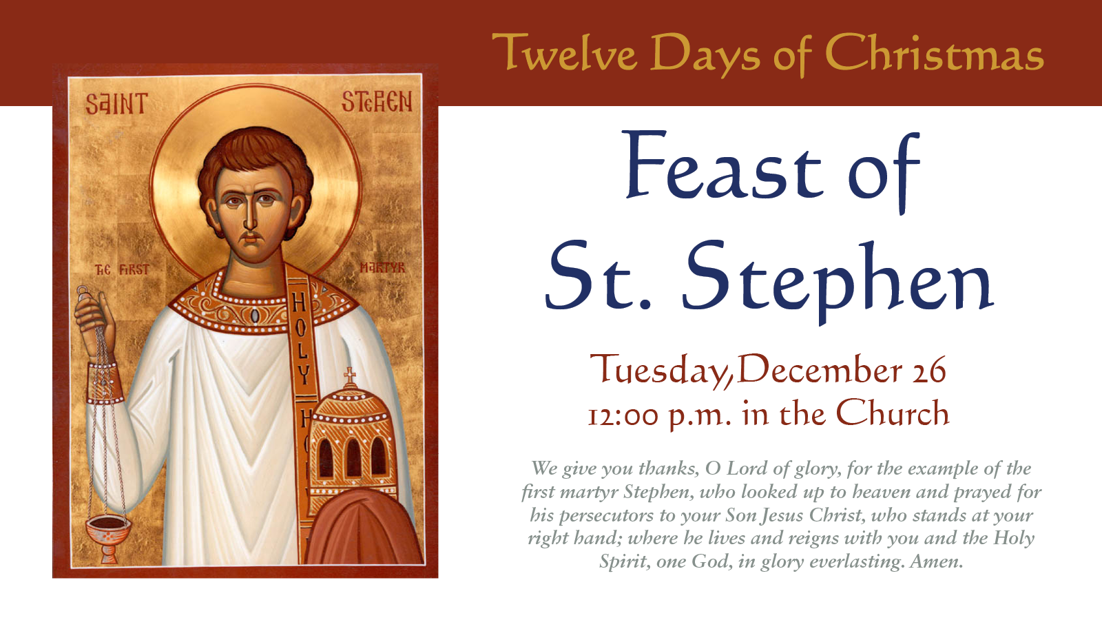 Christ And St Stephen S Food Pantry